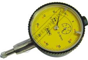34-213 Metric Dial Indicator - Precision 0-5mm 6 x Precision Jewel Movement