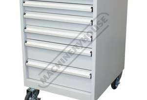 TCW-900N Industrial Mobile Tooling Cabinet 565 x 580 x 900mm 100kg per Drawer