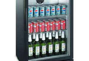 Bromic BB0120GD - Back Bar Glass Door Display Chiller - 118L (Hinged Door)