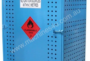 Single Sided Access Gas Store Cabinet 165Kg