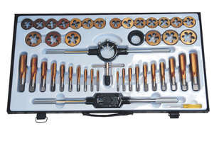 53280 - 45PC TUNGSTEN STEEL TAP & DIE SET METRIC