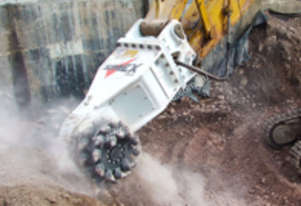 Simex Rotary Cutters 4 concrete&rockwall profiling
