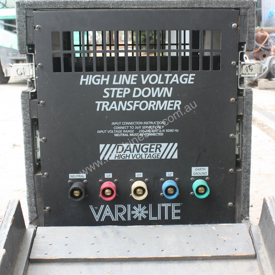 Varilite High Line Voltage Step Down Transformer