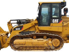 CAT 963D Drott, Loader, new Track Gear, call EMUS