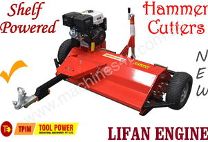 Flail Mower shelf powered ATV 15-hp Hammer Cutters