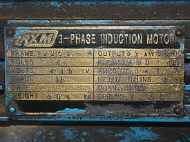 Hydraulic Press 100 Tonne Ram 100x80cm - picture3' - Click to enlarge