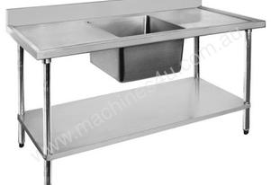 Economic 304 Grade SS Single Sink Benches