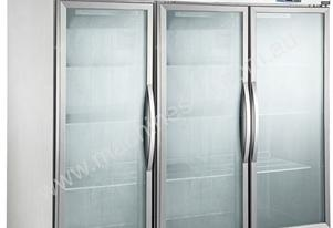 Three Door Upright Display Freezer