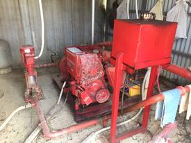 Complete fire pump system including jacking pump,