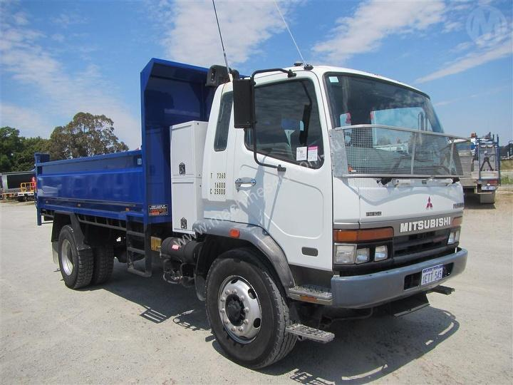 Used Mitsubishi Rigid Trucks for sale - 2001 Mitsubishi FM 600 Tipper ...