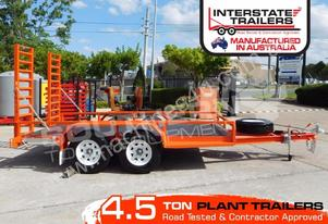 4.5 TON Heavy Duty Plant Trailer Deluxe colour