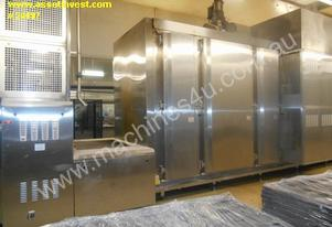 ALL SS - SERPENTINE CONVECTION HEATED BAKING OVEN