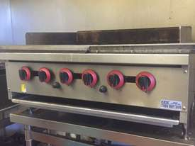 Gas char grill burners - picture0' - Click to enlarge