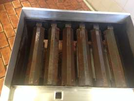 Gas char grill burners - picture1' - Click to enlarge