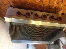 Gas char grill burners - picture2' - Click to enlarge