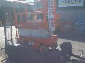SNORKEL S1930 SCISSOR LIFT AND TRAILER PACKAGE  - picture3' - Click to enlarge