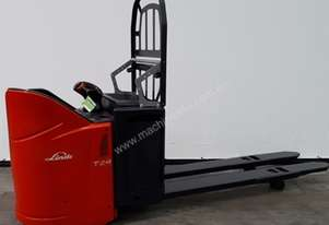 Genuine Pre-Owned Linde T24SP Ride-On Pallet Truck