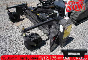 1500mm M5H Harley Rake Suit skid steer loaders ATTRAK