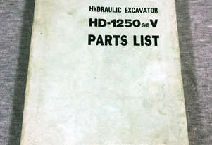 Kato HD-1250SEV Parts Manual 170831