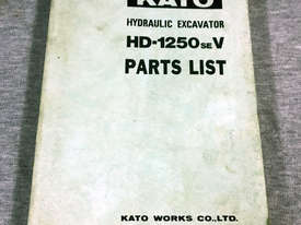 Kato HD-1250SEV Parts Manual 170831 - picture0' - Click to enlarge