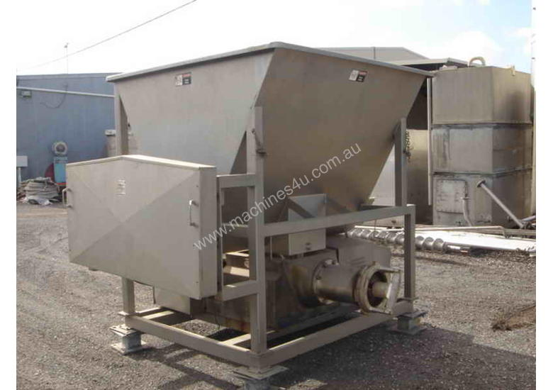 Used Weiler 1109sfg Industrial Meat Mincer In Laverton