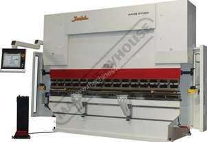 APHS-3108x160 Hydraulic CNC Pressbrake 160T, 7 Axis, Delem DA69T Touch Screen Control Includes Progr