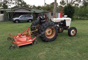 David Brown 885 & Howard finishing mower