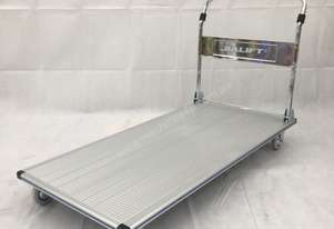 Aluminum platform trolley capacity up to 350kg