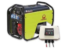 Pramac 7.2kVA Petrol Auto Start Generator + 2 Wire Controller - picture9' - Click to enlarge
