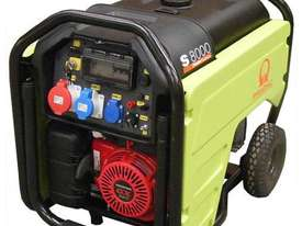 Pramac 7.2kVA Petrol Auto Start Generator + 2 Wire Controller - picture10' - Click to enlarge