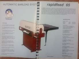 CNC Bar Feeder Bartec Rapidfeed 65 - picture3' - Click to enlarge