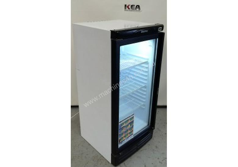 BROMIC SINGLE GLASS DOOR FRIDGE 1300MM HIGH Model : GMO220