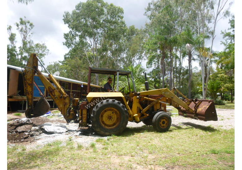 Used Massey Ferguson MF50 Backhoe Loader in , - Listed on