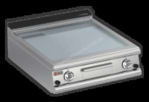 Baron 9FTT/G825 2/3 Smooth 1/3 Ribbed Chromed Griddle Plate