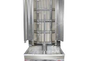F.E.D. KMB3E Semi-automatic Kebab Machine Natural Gas 3 Burnner