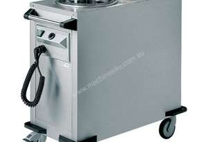 Rieber RRV-H2-190-320 - 55kgs Mobile Tubular Dispenser (Round) - Static Heating