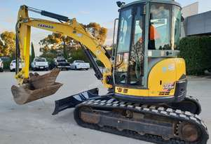USED YANMAR VIO55-5 WITH FULL CAB AND LOW 2986 HOURS