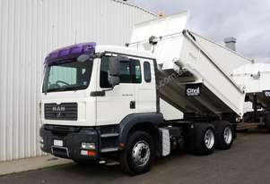2007 MAN TGA 26.430 (6x4) Bisalloy Tipper