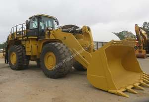 2015 CATERPILLAR 988K WHEEL LOADER (HIGH LIFT)
