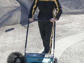 ASC ME Manual Sweeper - 10 times faster than a man with a broom - picture1' - Click to enlarge