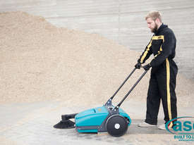 ASC ME Manual Sweeper - 10 times faster than a man with a broom - picture2' - Click to enlarge