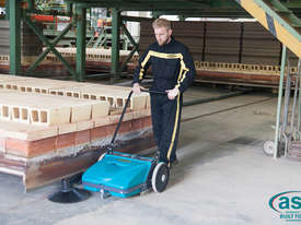 ASC ME Manual Sweeper - 10 times faster than a man with a broom - picture4' - Click to enlarge