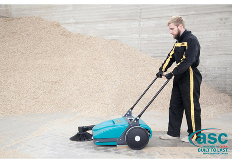 The Multi-Award Winning ASC MEP Manual Sweeper - Simple, Fast, Effective & Ecological