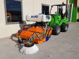 New Tuchel Sweeper Broom Attachment for Skid Steers Forward Moving Bucket Broom - picture11' - Click to enlarge