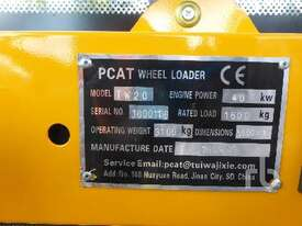 PCAT TW20 Wheel Loader - picture4' - Click to enlarge