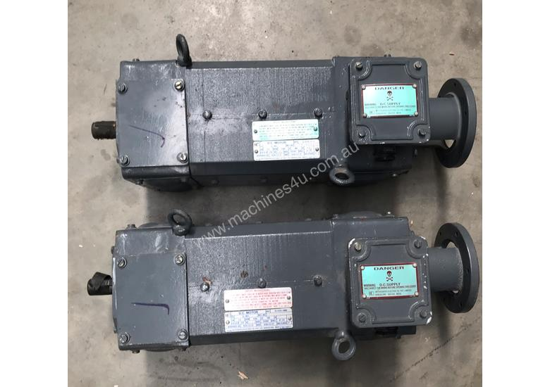 1.5 kw 2 hp 1500 rpm 180 volt 80L frame DC Electric Motor
