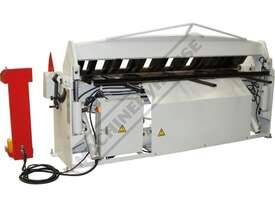 PB-825A Hydraulic NC Panbrake - NC-89 Control 2500 x 2.5mm Mild Steel Bending Capacity - picture2' - Click to enlarge
