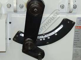 PB-825A Hydraulic NC Panbrake - NC-89 Control 2500 x 2.5mm Mild Steel Bending Capacity - picture5' - Click to enlarge