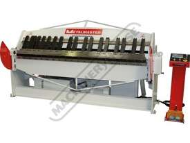 PB-825A Hydraulic NC Panbrake - NC-89 Control 2500 x 2.5mm Mild Steel Bending Capacity - picture0' - Click to enlarge