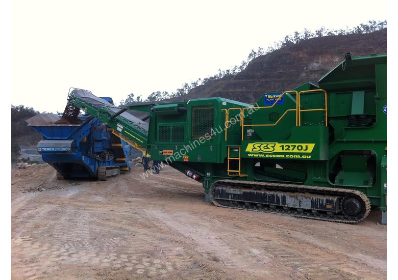 SCS1270J Mobile Jaw Crusher